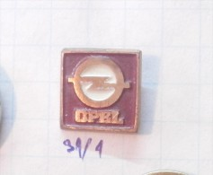 OPEL (Serbia) Yugoslavia / Auto Car LOGO Small Pin RRR - Opel