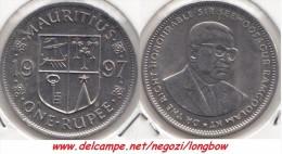 MAURITIUS 1 RUPEE 1997 - KM#55 - Used - Mauritius