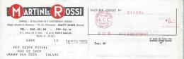Apéritif/Martini & Rossi/ Saint Ouen /Seine/Aunay Sur Odon/ 1965   FACT78 - Food