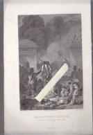 Gravure Sur Acier Milieu XIXè - Révolution De Belgique , Attaque Du Parc,  23 Septembre 1830 - Historische Dokumente