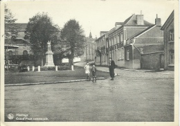 Hautrage - Grand´Place Communale - 1962  ( Voir Verso ) - Saint-Ghislain