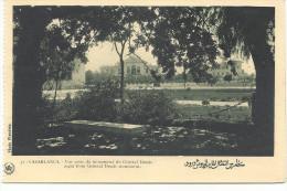 MAROC-CASABLANCA Vue Prise Du Monument Du Général Drude-MB - Casablanca