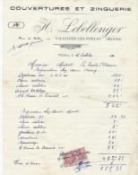 Verres à Vitres/Couleurs Et Vernis/ G. Mercier & A. Godefroy/Novo / Petit Couronne/ ROUEN:/ 1943   FACT83 - Petits Métiers