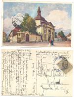 LAIBACH,LJUBLJANA DEUTSCHE RITTERORDENS KIRCHE VERY VERY RARE YEAR 1927 - Slovénie