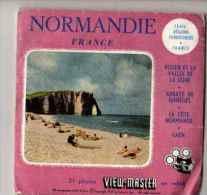 VIEW MASTER NORMANDIE (1421 A B C) - Visionneuses Stéréoscopiques