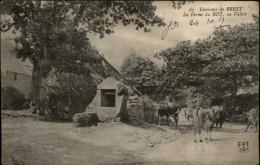 29 - BREST - SAINT-MARC - Ferme - Vaches - Brest