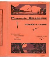 Protege-cahier Pharmacie Delabrière à Cosne Sur Loire - Paysages (couleur Rose Ou Orange) - Protège-cahiers