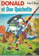"""DONALD  """" ET DON QUICHOTTE """" ( WALT DISNEY ) - HACHETTE - Donald Duck"""