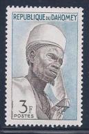 Benin(Dahomey) Scott # 161 MNH Bariba Chief, 1963 - Bénin – Dahomey (1960-...)