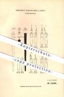 Original Patent - Friedrich Soennecken In Bonn , 1880 , Federhalter , Schreibmaterialien !!! - Schreibgerät