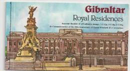 1975 MNH Gibraltar Booklet, Postfris - Gibraltar