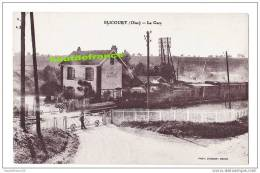 Rare Postcard-Postkarte-CP Village De BLICOURT, 60 - Oise, Station LA GARE Avec Le Train - Unclassified