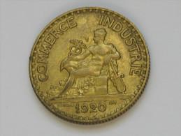 2 Francs 1920 Chambre de Commerce - proche du SUP **** EN ACHAT IMMEDIAT ****