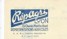 Rerpagri / Lyon/ /Représentations Agricoles/ Moulins Et Broyeurs VORAX/LYON  / 1949      FACT87 - Agriculture