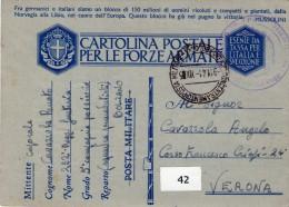 ITALIA   Posta Militare  Concentramento Bologna  Del  9 - 11 - 1941 - Zonder Classificatie