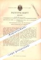 Original Patent - Korb- Und Weidenindustrie , Oscar Schleicher In Heinsberg , 1882 , Reinigungsmaschine Für Flechtrohr ! - Heinsberg