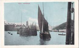 1900 CIRCA PEEL HARBOUR - Isle Of Man