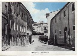 TOSCANA-PISA-LARI VEDUTA VIA SONNINO - Italia