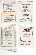 Moldova  Moldavie , Chisinau ,  Bus  tickets