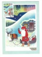 """Italia 1999 ; NATALE; Maximum Card Con Annullo Speciale """" Mostra Filatelica : Il Natale """" A Treviso Centro - Cartoline Maximum"""