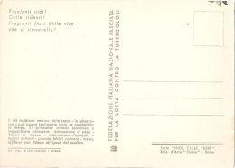 FASCIST PROPAGANDA AGAINST TUBERCULOSIS '' CRADLE & BIRD & FLOWERS '' 1939 - N.2 - Salute