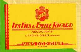 BUVARD & Blotting Paper  : Les Fils D'Emile Ricard - Liquor & Beer