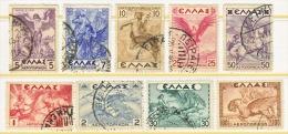 GREECE  C 22-30   (o) - Airmail