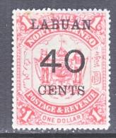 LABUAN  62    * - North Borneo (...-1963)