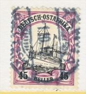 GERMAN  EAST  AFRICA  28   (o)  TABORA  Type  II   Cd. - Colony: German East Africa