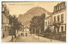 Rhöndorf ( ALLEMAGNE)  Alte Kapelle Und Drachenfels - Bad Honnef