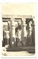 Cp, Egypte, Louxour, Temple, Statue Of Ramsès II, Voyagée - Luxor