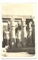 Cp, Egypte, Louxour, Temple, Statue Of Ramsès II, Voyagée - Louxor