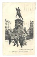 Cp, 59, Lille, Monument Faidherbe, Voyagée 1933 - Lille