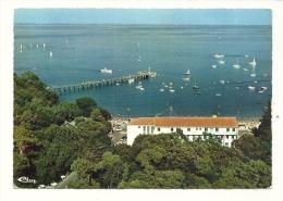 Cp, 85, Noirmoutier-en-l'Ile, Vue Aérienne, Baie Et Plage Des Dames, Voyagée 1969 - Noirmoutier
