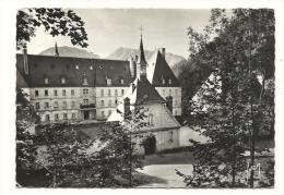 Cp, 38, Monastère De La Grande Chartreuse, Façade Du Monastère, Voyagée 1964 - Chartreuse