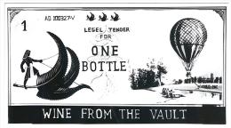 Primitive Forunner Wine Money. - Banknotes