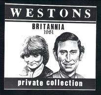 Britania Wine Label 1981 - Unclassified