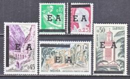 ALGERIA   286-90   ** - Algeria (1924-1962)
