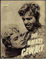 """Das Neue Film-Programm Von Ca. 1955  -  """"Die Nackte Gewalt""""  -  Mit James Stewart  -  Janet Leigh - Magazines"""