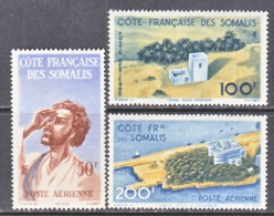 FRENCH SOMALI COAST  C 15-17   * - French Somali Coast (1894-1967)