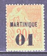 MARTINIQUE  5  Fault    * - Martinique (1886-1947)