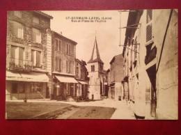 42 Loire St SAINT GERMAIN LAVAL Rue Et Place De L'Eglise - Saint Germain Laval