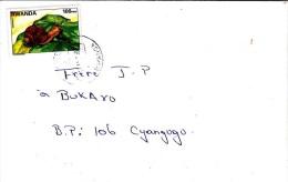 Z] Enveloppe Cover Rwanda Escargot Snail Faune Fauna - Autres