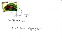 Z] Enveloppe Cover Rwanda Escargot Snail Faune Fauna - Rwanda