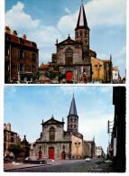 2 CP De Riom - église Saint Amable - Riom