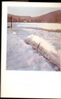 Kleine Kalender Calendrier 1957 - Sneeuwlandschap - Calendriers