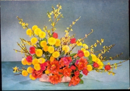Kleine Kalender Calendrier 1958 - Bloemen - Des Fleurs - Calendriers