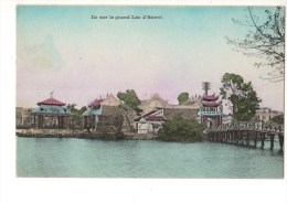 ASIE----VIET NAM----ile Sur Le Grand Lac D'hanoï---voir 2 Scans - Viêt-Nam
