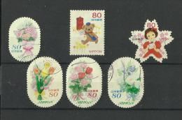 97. 2013. Japan Greetings Stamps Good Set Of Stamps Very Fine Used - Used Stamps