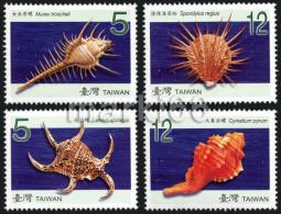 Taiwan - 2008 - Shells Of Taiwan Waters - Mint Stamp Set - 1945-... Republiek China
